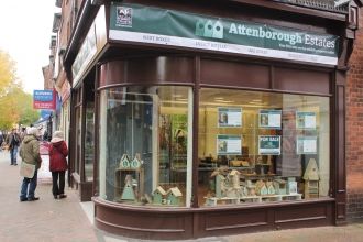 Attenborough Estates Pop up shop
