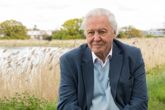 Sir David Attenborough at Woodberry Wetlands