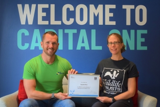 Capital One business partner certificate presentation