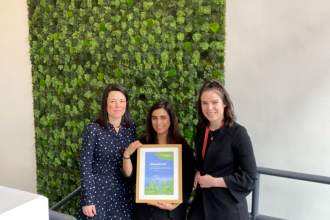 Business certificate presentation to Albumedix April 2020