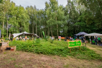 Wilder Woodland Gathering stage