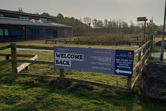 Idle Valley welcome back sign