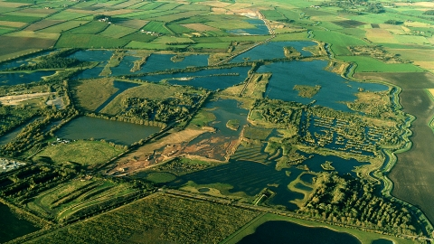 Idle Valley Aerial view