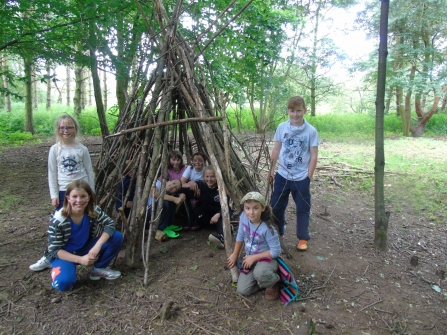 Den building supported by players of People's Postcode Lottery