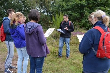 WEP - Reptile Surveys Aug 2014 (2) NottsWT cpt NWT - HLF