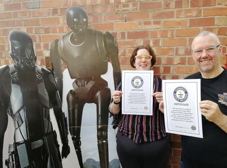 Guinness World Record certificates