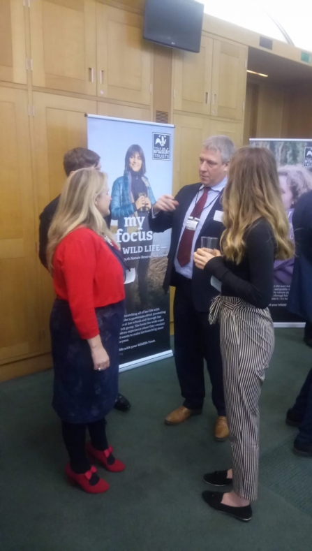 Keeping It Wild with Paul Wilkinson inside Parliament reception 2018