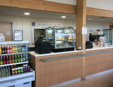 New servery at Idle Valley cafe