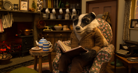 Badger from The Wind in the Willows voiced by Stephen Fry