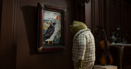 Toad of Toad Hall from The Wind in the Willows voiced by Asim Chaudhry