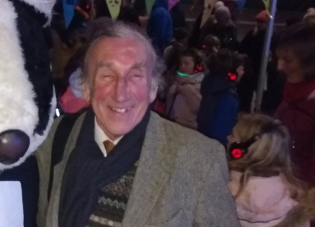 Picture of Tom Huggon at Light Night 2019