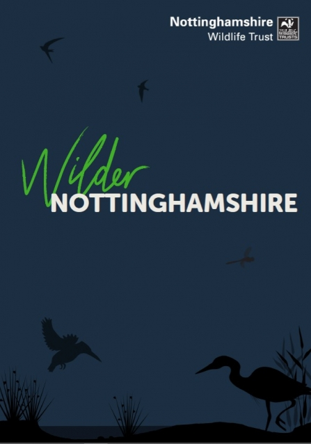 Front cover of the Wilder Nottinghamshire document
