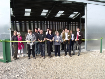 Grand opening of the Idle shed