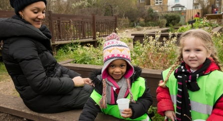 Bellenden Nursery Centre Wildlife Garden