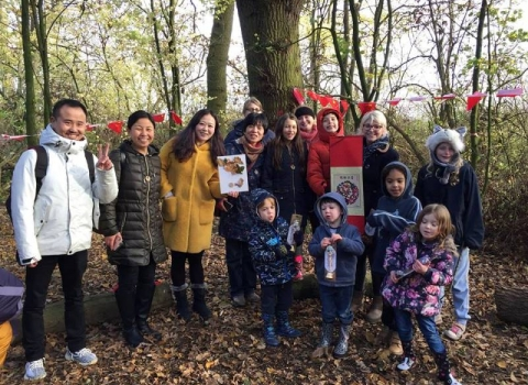 PPL 2017 Fernwood Forest School Chinese visit