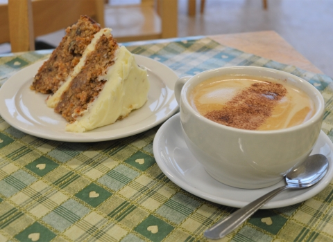 Idle Valley Cafe Cake Coffee